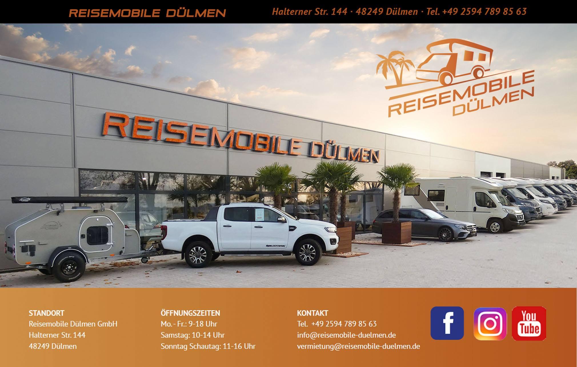 Reisemobile Dülmen GmbH - Verkauf, Vermietung, Werkstattservice